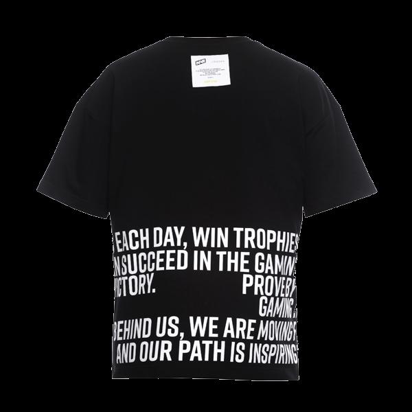Oversize T-Shirt NAVI x LITKOVSKAYA Black