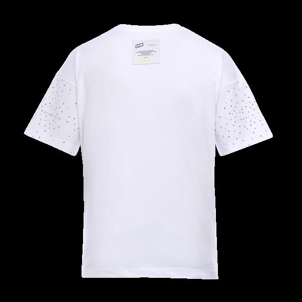 Oversize T-Shirt NAVI x LITKOVSKAYA White