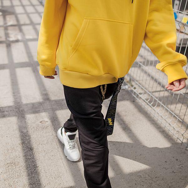 Oversize Hoodie NAVI x LITKOVSKAYA Yellow