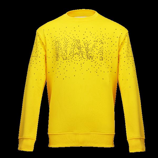 Oversize Sweatshirt NAVI x LITKOVSKAYA Yellow