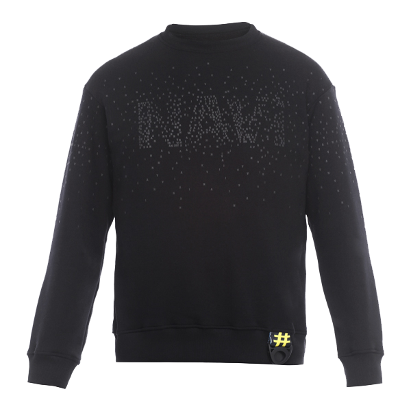 Oversize Sweatshirt NAVI x LITKOVSKAYA Black