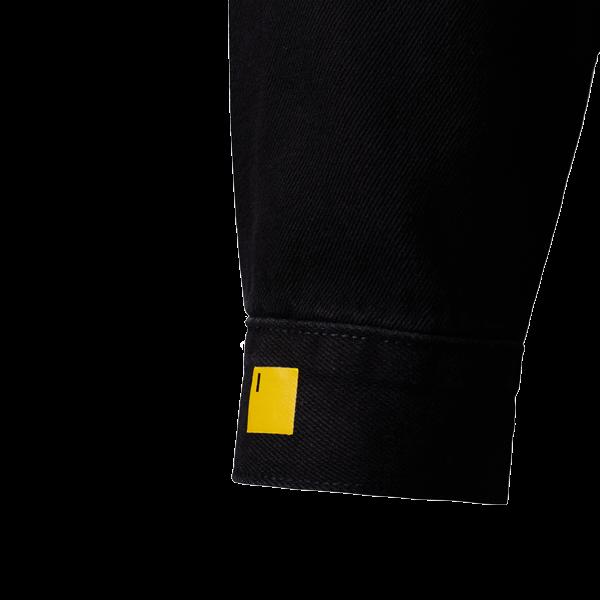 Denim black shirt NAVI x KSENIASCHNAIDER